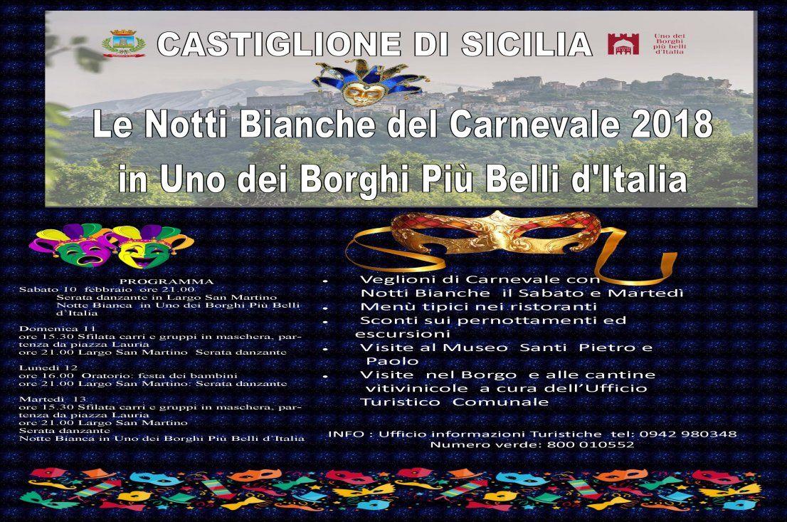 CARNEVALE A CASTIGLIONE DI SICILIA