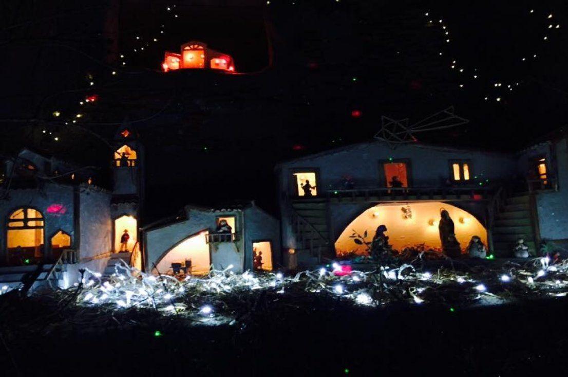 Natale a Castiglione di Sicilia: Il presepe nel presepe